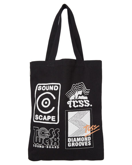 BLACK MENS ACCESSORIES THE CRITICAL SLIDE SOCIETY BAGS + BACKPACKS - TO1813BLK