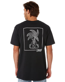 BLACK MENS CLOTHING SWELL TEES - S5201035BLACK