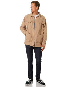 SAND MENS CLOTHING DEPACTUS JACKETS - D5182382SAND