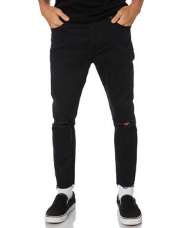 SMOKEY BLACK MENS CLOTHING ABRAND JEANS - 807602375