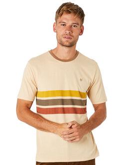 PARCHMENT MENS CLOTHING BRIXTON TEES - 06764PARCH