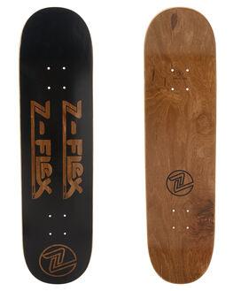 BLACK SKATE DECKS Z FLEX  - ZFX1004BLK