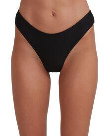 Tanlines Bondi Bikini Bottoms - Black | SurfStitch