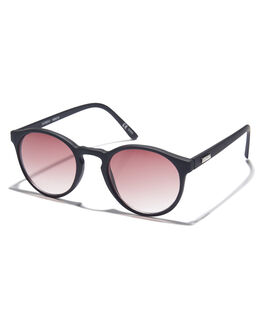 BLACK RUBBER WOMENS ACCESSORIES MINKPINK SUNGLASSES - MNP1808218BLKRB