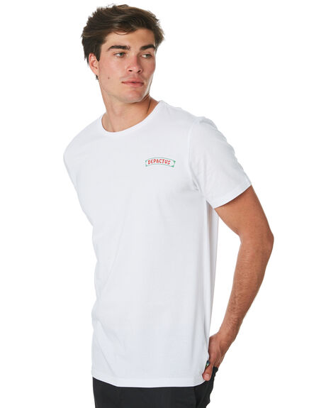 WHITE MENS CLOTHING DEPACTUS TEES - D5194005WHITE