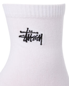 WHITE WOMENS CLOTHING STUSSY SOCKS + UNDERWEAR - ST791027WHITE