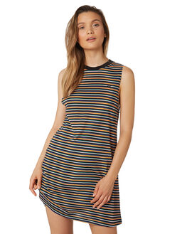 BLACK WOMENS CLOTHING BILLABONG DRESSES - 6581479BLK