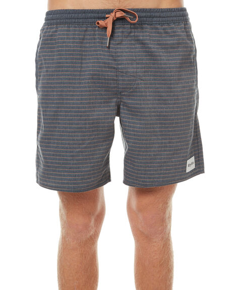 CHARCOAL MENS CLOTHING RHYTHM SHORTS - OCT17M-JM03-CHA