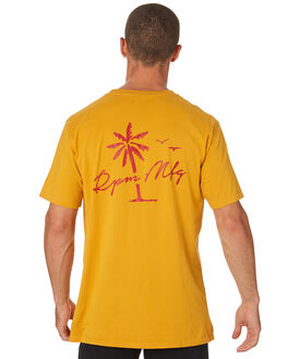 GOLD MENS CLOTHING RPM TEES - 8HMT02AGLD