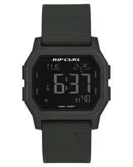 MILITARY GREEN MENS ACCESSORIES RIP CURL WATCHES - A27010854
