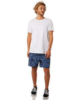 NAVY BLUE MENS CLOTHING RUSTY BOARDSHORTS - BSM1255NVY