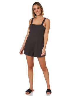 CHARCOAL WOMENS CLOTHING NUDE LUCY PLAYSUITS + OVERALLS - NU23788CHAR