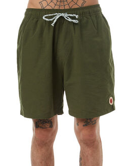 DEEP FOREST MENS CLOTHING MOLLUSK BOARDSHORTS - MS4035DFOR