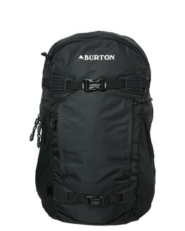 TRUE BLACK RIPSTOP MENS ACCESSORIES BURTON BAGS + BACKPACKS - 15286104020