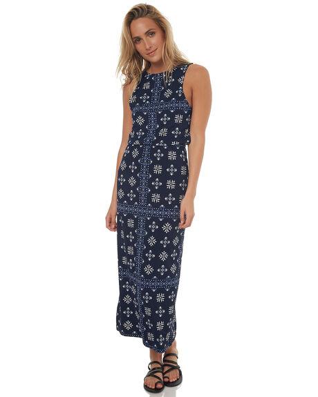 INDIGO WOMENS CLOTHING TIGERLILY DRESSES - T372404IND