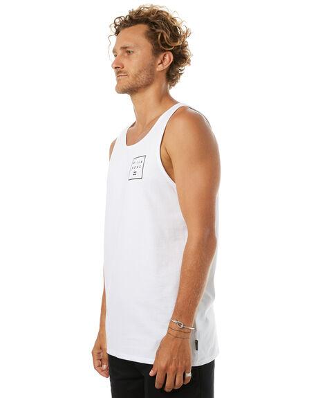 WHITE MENS CLOTHING BILLABONG SINGLETS - 9585508WHT