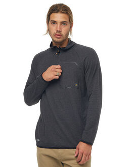 CHARCOAL HEATHER SNOW OUTERWEAR QUIKSILVER LAYERING - EQMKT03024KTAH
