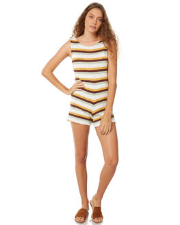 STRIPE WOMENS CLOTHING ZULU AND ZEPHYR PLAYSUITS + OVERALLS - ZZ2066STR