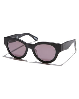MATTE BLACK MENS ACCESSORIES VIEUX EYEWEAR SUNGLASSES - VX004DMTBLK
