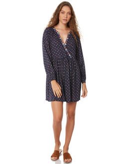 INDIGO WOMENS CLOTHING TIGERLILY DRESSES - T385425INDI