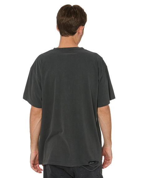 VINTAGE BLACK MENS CLOTHING THE PEOPLE VS TEES - AW21M016VBLK