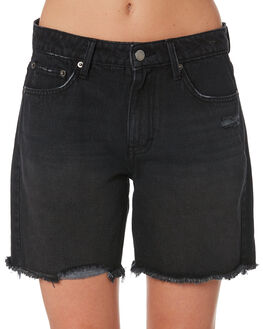 ACES BLACK WOMENS CLOTHING RUSTY SHORTS - WKL0653ACB