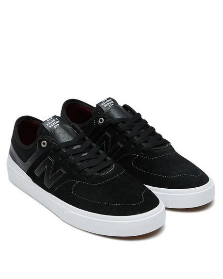 BLACK WHITE MENS FOOTWEAR NEW BALANCE SNEAKERS - NM379BWHBLKW