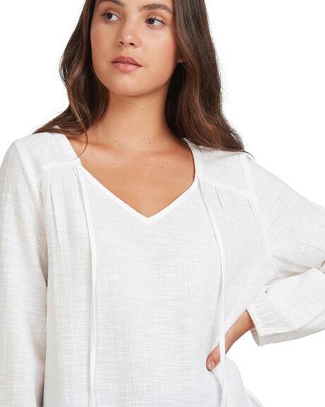 BRIGHT WHITE WOMENS CLOTHING ROXY FASHION TOPS - URJWT03052-WBB0
