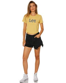 YELLOW STRIPE WOMENS CLOTHING LEE TEES - L-651794-299