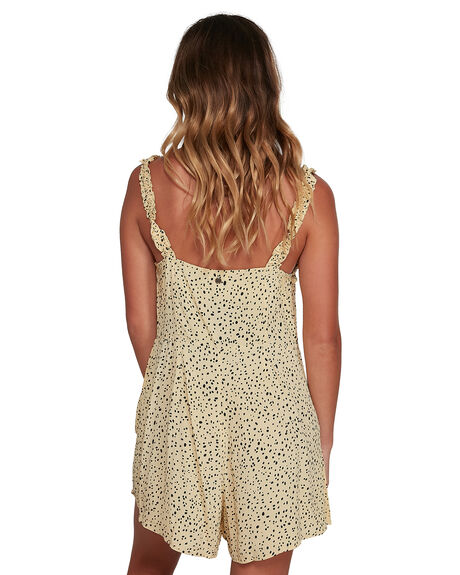 WHEAT WOMENS CLOTHING BILLABONG PLAYSUITS + OVERALLS - BB-6504522-W15