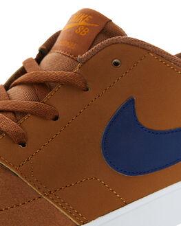 LT BRITISH TAN WOMENS FOOTWEAR NIKE SNEAKERS - SS880266-202W