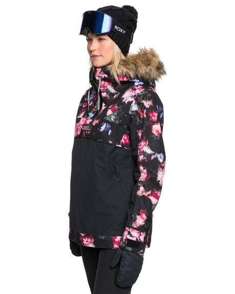 TRUE BLACK BOARDSPORTS SNOW ROXY WOMENS - ERJTJ03262-KVJ6