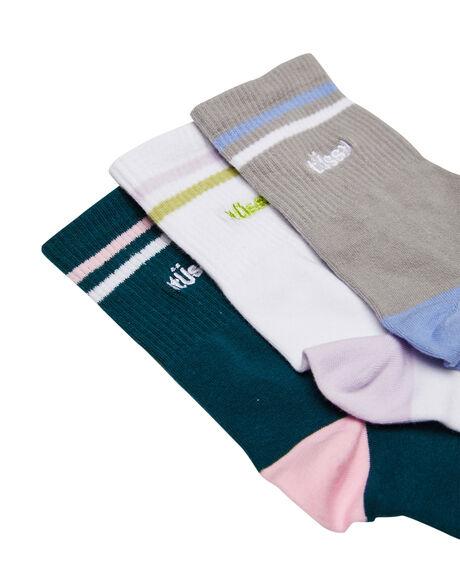 MULTI WOMENS CLOTHING STUSSY SOCKS + UNDERWEAR - ST716012MUL