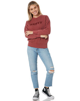 RUBY WINE WOMENS CLOTHING RUSTY JUMPERS - FTL0725RUW