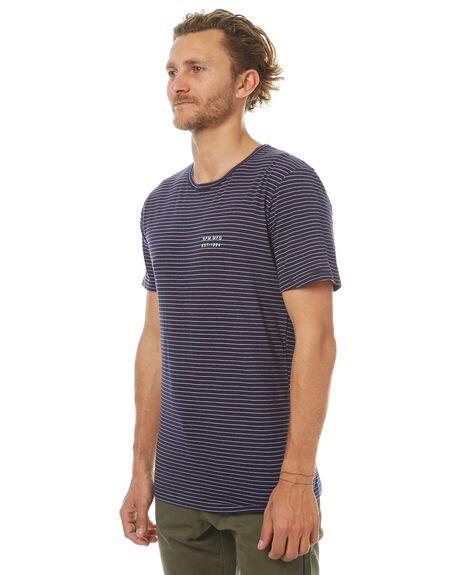 NAVY MENS CLOTHING RPM TEES - 7PMT01CNVY