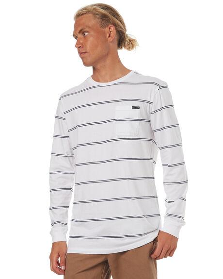 WHITE MENS CLOTHING RUSTY TEES - TTM1768WHT