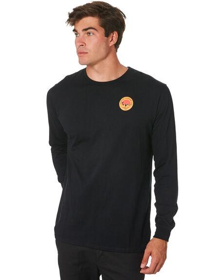 BLACK MENS CLOTHING DEPACTUS TEES - D5194100BLACK