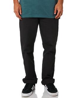 RINSED BLACK MENS CLOTHING DICKIES PANTS - 1939RBK