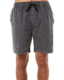 MERCH BLACK MENS CLOTHING THRILLS BOARDSHORTS - TH8-304MBMERBK