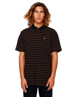 BLACK STRIPE MENS CLOTHING BILLABONG SHIRTS - BB-9591144-BAJ