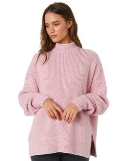 PINK WOMENS CLOTHING C&M CAMILLA AND MARC KNITS + CARDIGANS - UCMK3262PNK