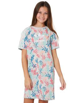 MULTI KIDS GIRLS ADIDAS DRESSES + PLAYSUITS - EJ6298MLT