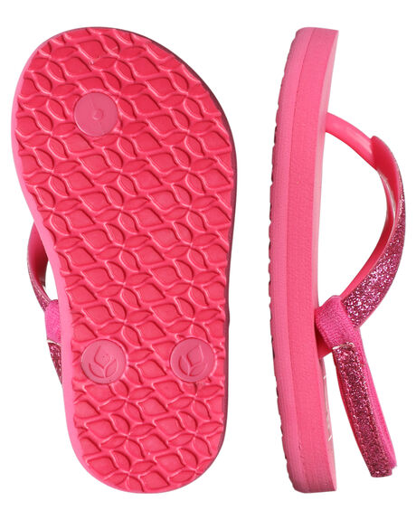 HOT PINK KIDS GIRLS REEF FOOTWEAR - 2080HPK