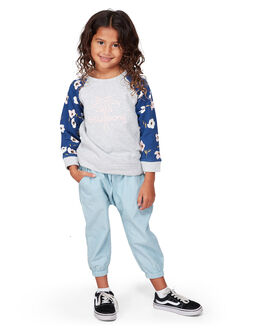 GREY MARLE KIDS GIRLS BILLABONG JUMPERS + JACKETS - BB-5507738-GYM