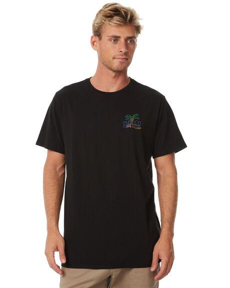 BLACK MENS CLOTHING SWELL TEES - S5184009BLACK