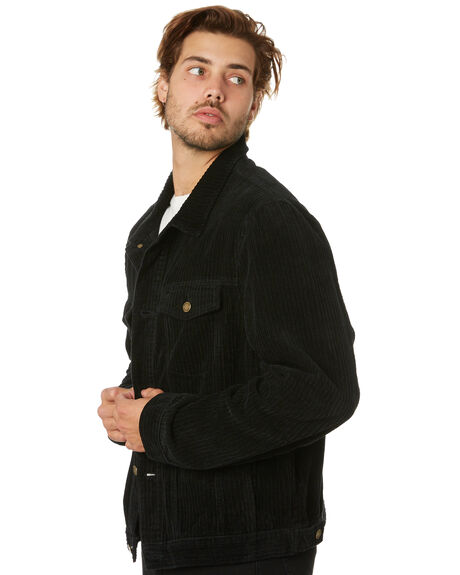 BLACK MENS CLOTHING ROLLAS JACKETS - 15861100