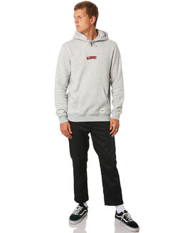 LIGHT GREY MARLE MENS CLOTHING ELEMENT JUMPERS - 184301LTGRY