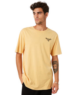 HONEY GOLD MENS CLOTHING VOLCOM TEES - A4341974HGD