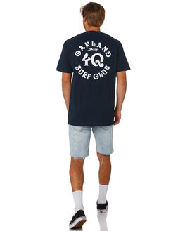 NAVY MENS CLOTHING OAKLAND SURF CLUB TEES - SS19T2003NVY