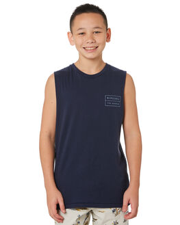NAVY KIDS BOYS RIP CURL TOPS - KTEVL20049
